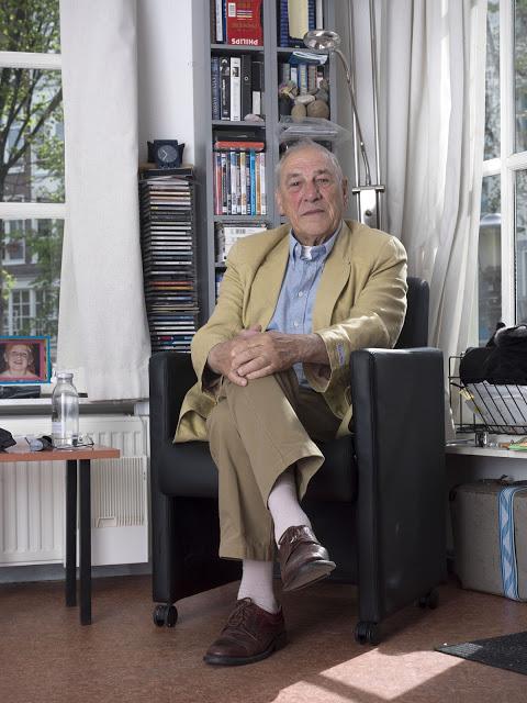 Piet Seijsener elderly Amsterdam