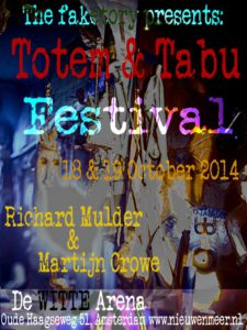 totem and tabu flyer