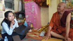 Sina and San monk