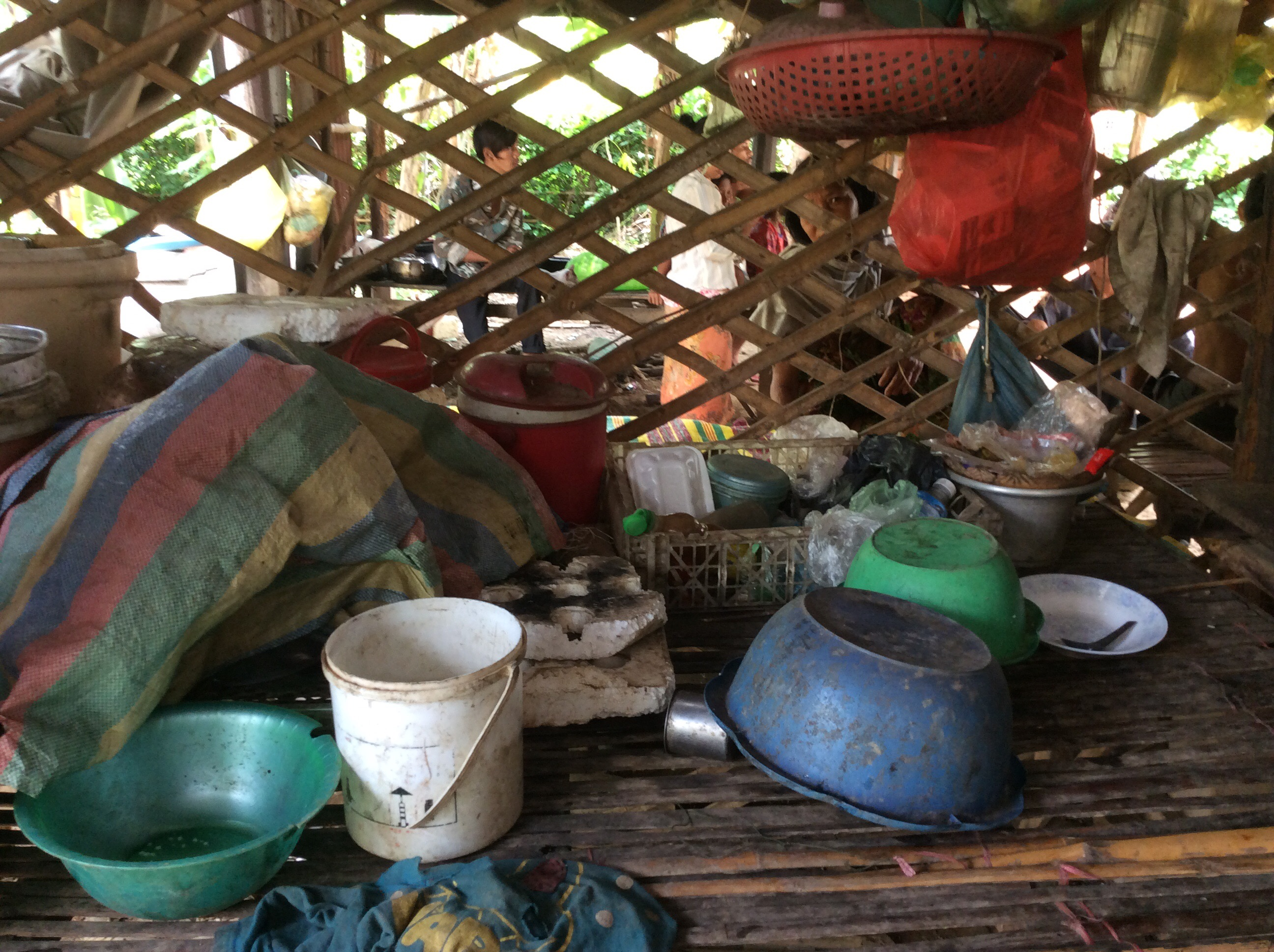 Buo Phans kitchen elderly cambodia living circumstances