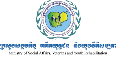 ministery of social affairs Cambodia logo