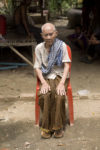 Buo Phan (91) portrait elderly poor