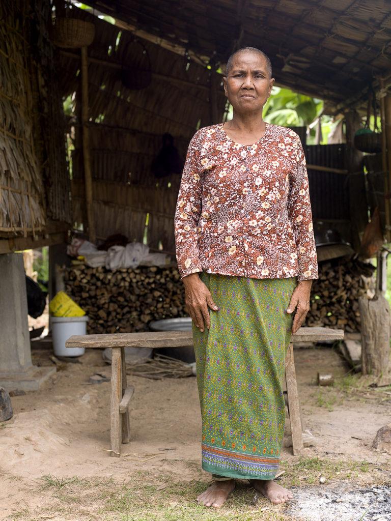 Yoeum Phor elderly woman cambodia