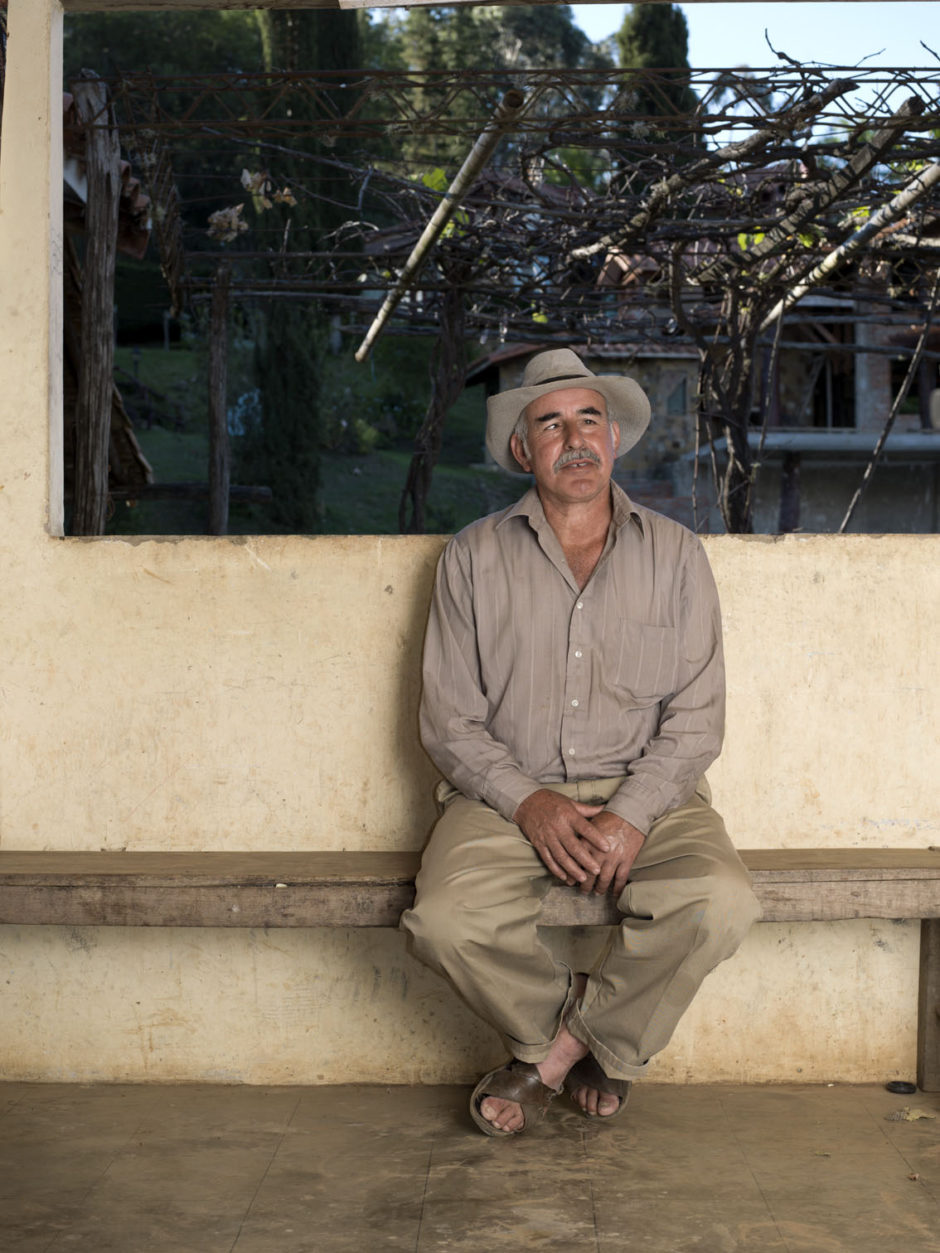A photograph of Don Juan, an older man in Samaipata, Bolivia